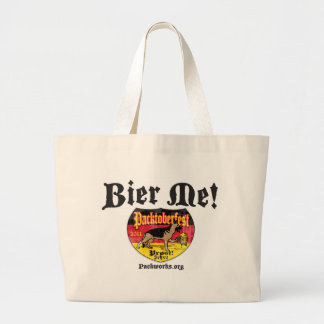New Packtoberfest 2011 Large Tote Bag