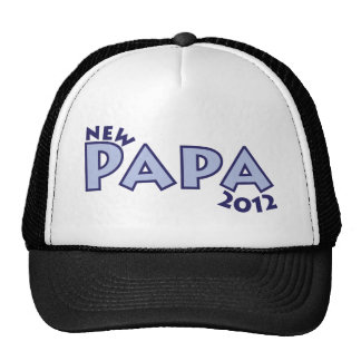 New Papa 2012 Trucker Hats