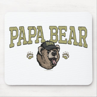 New Papa Bear Father's Day Gear Mouse Pad