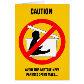 New Parenting Advice (funny) card