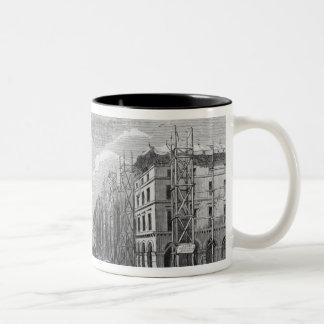 New Paris, view of a part of Rivoli street Two-Tone Coffee Mug