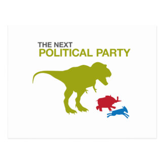 New Political Party Postcard