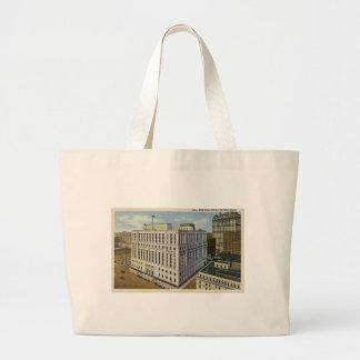 New Post Office Detroit, Michigan - Vintage Bag
