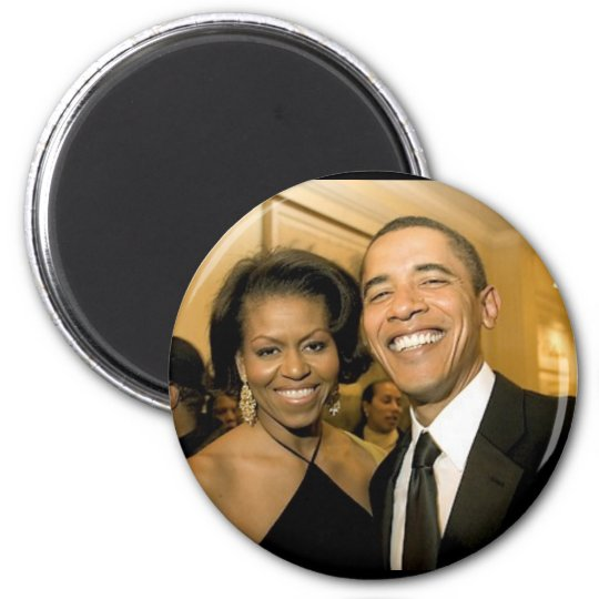 NEW Power Couple of the United States 6 Cm Round Magnet