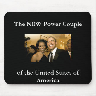 NEW Power Couple of the United States Mouse Mat
