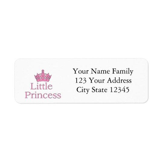 New Princess - a Royal Baby! Return Address