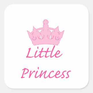 New Princess - a Royal Baby! Square Sticker