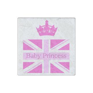 New Princess - a Royal Baby! Stone Magnet