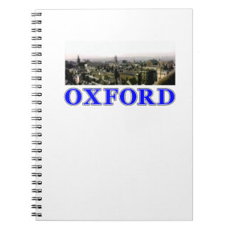 New Product Oxford snapshot Panorama 1986 Rooftops Note Book