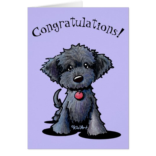 New Puppy Congratulations Card