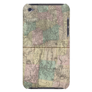 New railroad map of the United States iPod Touch Case-Mate Case