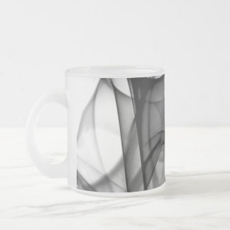 New Rainbow Waves Collection - Black White Wave Coffee Mugs