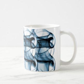 New Rainbow Waves Collection - Blue Wave Basic White Mug