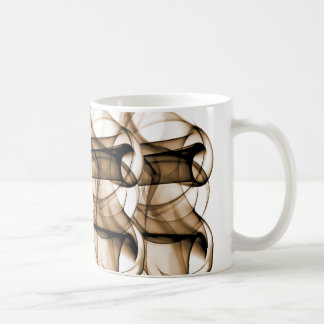 New Rainbow Waves Collection - Brown Wave Coffee Mugs