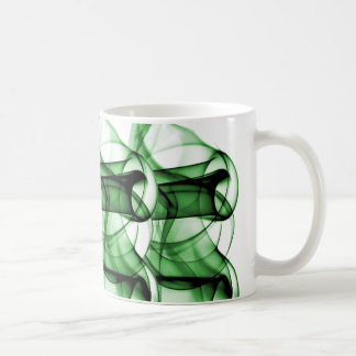 New Rainbow Waves Collection - Green Wave Mugs