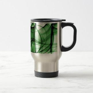 New Rainbow Waves Collection - Green Wave Mug