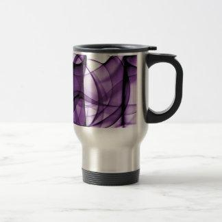 New Rainbow Waves Collection - Purple Wave Coffee Mugs