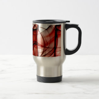 New Rainbow Waves Collection - Red Wave Coffee Mugs