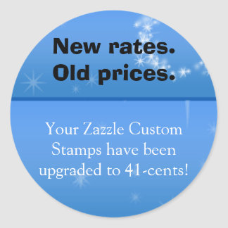 New rate, Old price sticker