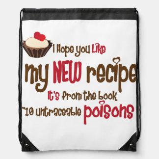 New recipe cinch bag