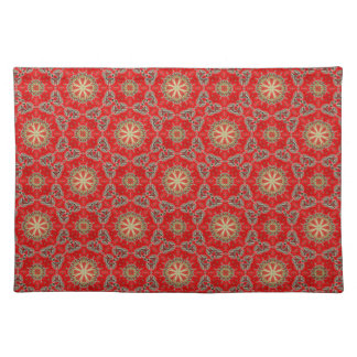 New Red & Gold Designer Placemat Gift