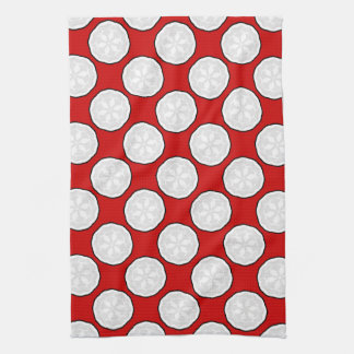 New Red & White Kitchen Towel Gift