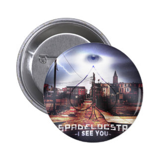 New Release I See You WorldWide 6 Cm Round Badge