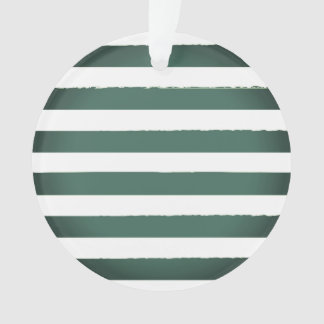 New retro christmas Ornament : old stripes
