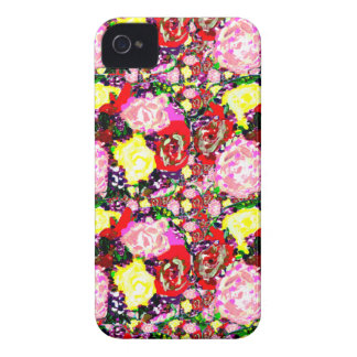New Retro Flowers Designer Blackberry Case iPhone 4 Cover
