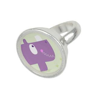 New! Rhino ladies Sterling silver ring