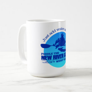 New River (Blue) Coffee Mug
