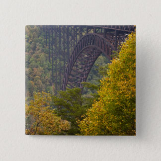 New River Gorge Bridge, New River Gorge 15 Cm Square Badge