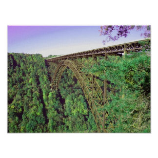 New River Gorge Bridge - West Virginia Poster