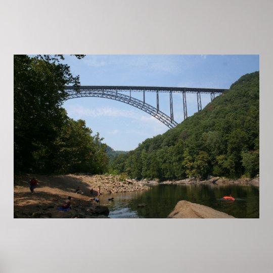 New River Gorge Bridge WVA Poster
