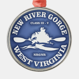 New River Gorge Christmas Ornament