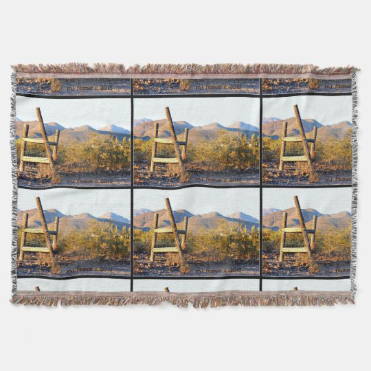 New River Ladder Throw Blanket