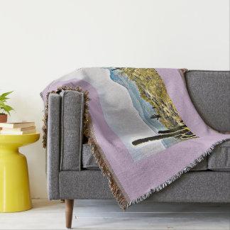 New River Tonto Mountain Landscape Custom Blanket