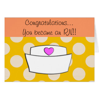 New RN Registered Nurse Congratulations Card II