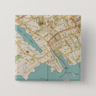 New Rochelle, NY 15 Cm Square Badge