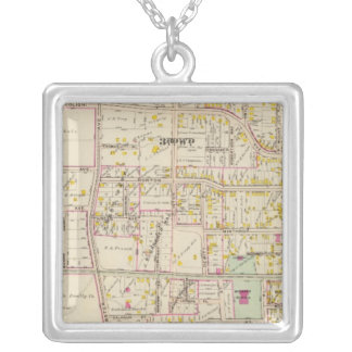 New Rochelle wards 3-4, New York Silver Plated Necklace