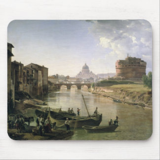New Rome with the Castel Sant'Angelo Mouse Mat