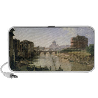 New Rome with the Castel Sant'Angelo Portable Speakers