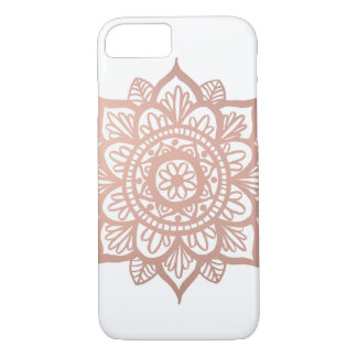 New Rose Gold Mandala Case