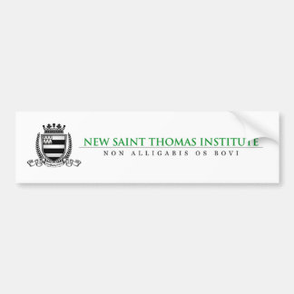 New Saint Thomas Bumper Sticker