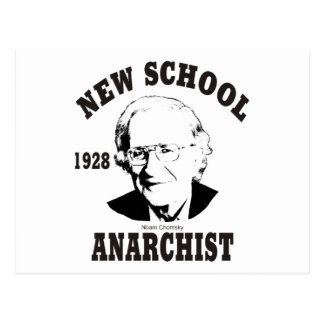 New School - Noam Chomsky Postcard