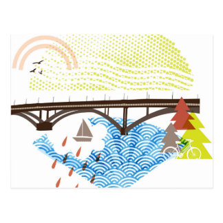 New Sellwood Bridge Portland Postcard