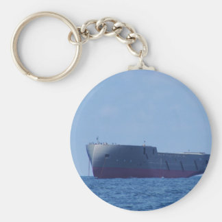 New Ship. Basic Round Button Key Ring
