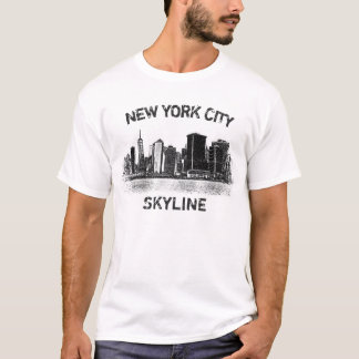 New Skyline Sketch t-shirt