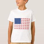 NEW-SLED-Flag-of-Sleds T Shirts