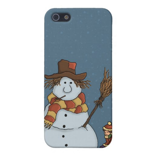 new snowman iPhone4 speckcase Case For iPhone 5